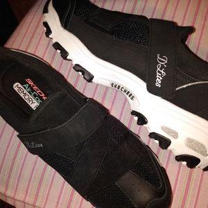 Skechers D'Lites, memory foam, size 9.5